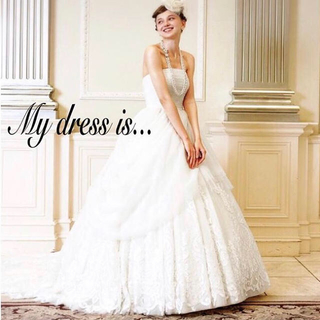 エメ(AIMER)のAimer エメ ウェディングドレス wedding dress プレ花嫁(ウェディングドレス)