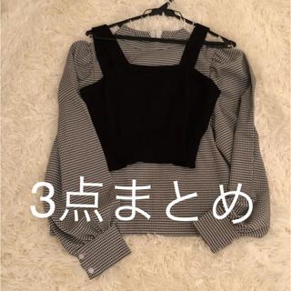 スナイデル(snidel)の3点まとめ(Tシャツ/カットソー)