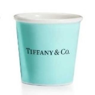 Tiffany & Co. - ティファニー エスプレッソ ペーパー カップ ボーンチャイナ (1個)