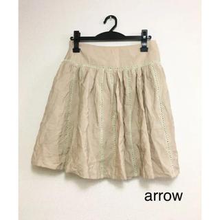 アロー(ARROW)のarrow  スカート(未使用)(ひざ丈スカート)