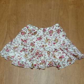 マザウェイズ(motherways)のマザウェイズ 花柄 スカート パンツ付き 110(スカート)