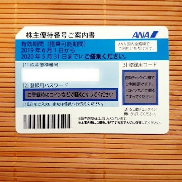 【お急ぎ対応】ANA 株主優待券 1枚 チケットの乗車券/交通券(航空券)の商品写真