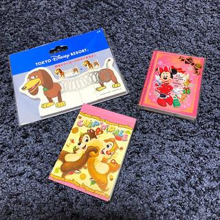 Disney - Disney メモ帳セット