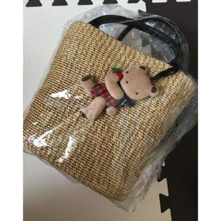 familiar - familiar カゴバッグ  新品未使用 神戸本店限定
