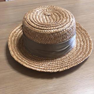 キャセリーニ(Casselini)のキャセリーニ 麦わら帽子(麦わら帽子/ストローハット)