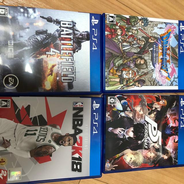 PlayStation4(プレイステーション4)のPs4 ソフト ペルソナ ドラクエ BF 2k エンタメ/ホビーのゲームソフト/ゲーム機本体(家庭用ゲームソフト)の商品写真