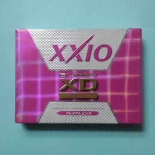 ダンロップ(DUNLOP)のXXIOスーパーXD+ゴルフボール ピンク新品1ダース(その他)