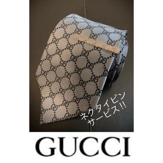 Gucci - グッチ GUCCI  ネクタイ GG柄