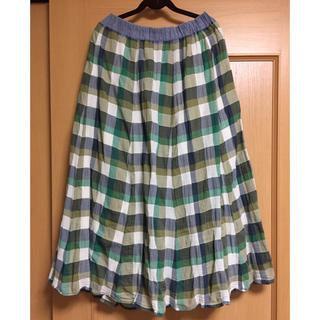 しまむら - しまむら チェック柄スカート