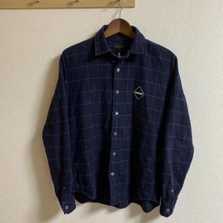 エフシーアールビー(F.C.R.B.)のF.C.R.B. アーチスターネルシャツ ネイビー 156004(Tシャツ/カットソー(七分/長袖))