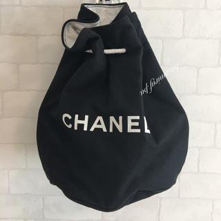 CHANEL - CHANEL 巾着バッグ リュック ショルダー 鞄