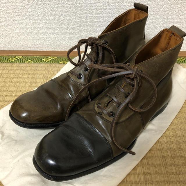Paul Harnden(ポールハーデン)のポールハーデン  レースアップシューズ メンズの靴/シューズ(ブーツ)の商品写真