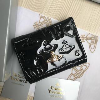Vivienne Westwood - ◆新品◆ Vivienne Westwood上質エナメル三つ折りがま口財布