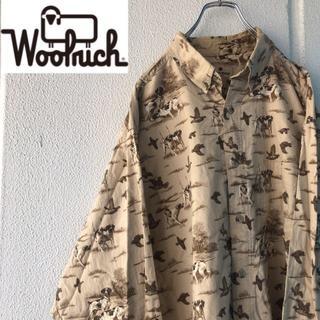 ウールリッチ(WOOLRICH)のWOOLRICH アニマルパターンシャツ(シャツ)