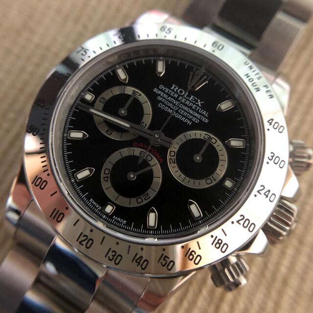 ROLEX(ロレックス)のchiko様専用 純正文字盤 116520 修理部品一式 メンズの時計(腕時計(アナログ))の商品写真