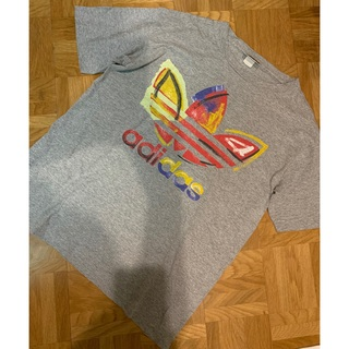 used 90'S USA製 adidas トレフォイル ロゴTシャツ
