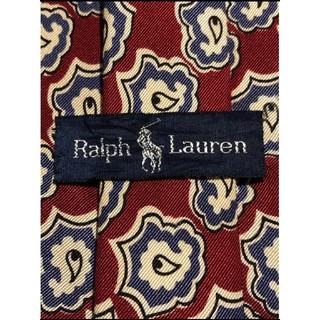 ラルフローレン(Ralph Lauren)の【Ralph Lauren】美品 ネクタイ お洒落なペイズリー(ネクタイ)
