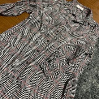 CECIL McBEE - 良品 チェック ロングシャツ