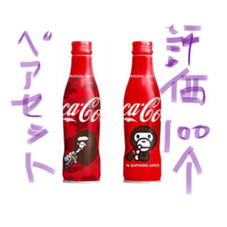 アベイシングエイプ(A BATHING APE)の送料無料 コカコーラ x ベイプ A Bathing Ape BAPE COKE(ソフトドリンク)