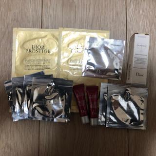 クリスチャンディオール(Christian Dior)のディオール プレステージ  アイマスク、スキンケアセット など価値約12500円(その他)