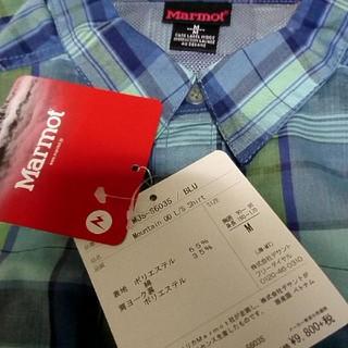マーモット(MARMOT)の【新品タグ付き】 マーモット   Mサイズ   シャツ (シャツ)