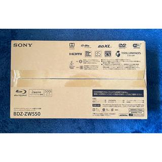 ソニー(SONY)の【新品未開封】BDZ-ZW550(ブルーレイレコーダー)