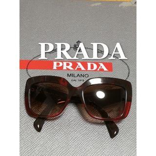 PRADA - PRADA プラダ サングラス 黒 レッド メンズ レディース
