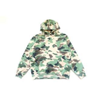 シュプリーム(Supreme)の(XL)Supreme Overdyed Hooded Sweatshirt迷彩(パーカー)
