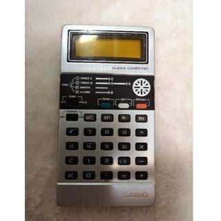 カシオ(CASIO)のCASIO カシオ計算機 電卓 レトロ(オフィス用品一般)