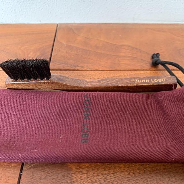 JOHN LOBB(ジョンロブ)のジョンロブ JohnLobb ウェルトブラシ 馬毛 純正 定価5,060円 新品 メンズの靴/シューズ(その他)の商品写真