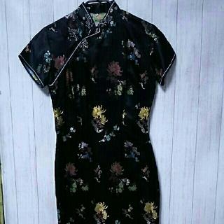 チャイナドレス/32サイズ美品(その他ドレス)