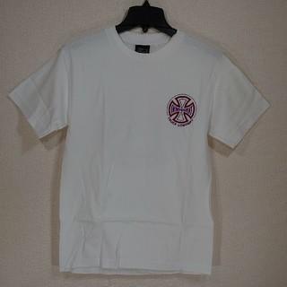 インディペンデント(INDEPENDENT)の【S】INDEPENDENT インディペンデント/半袖Tシャツ/ツートン/白(Tシャツ/カットソー(半袖/袖なし))