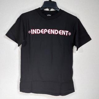 インディペンデント(INDEPENDENT)のINDEPENDENT インディペンデント/半袖Tシャツ/BAR CROSS/黒(Tシャツ/カットソー(半袖/袖なし))