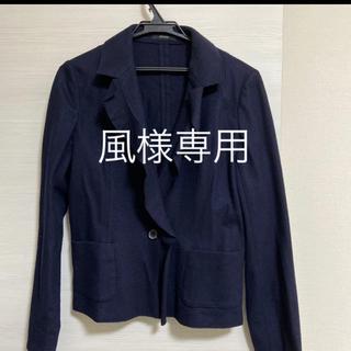アルティザン(ARTISAN)の風様 ご検討中 薄手ジャケット 秋冬 ネイビー 13号 半袖ブラウスおまけ(テーラードジャケット)
