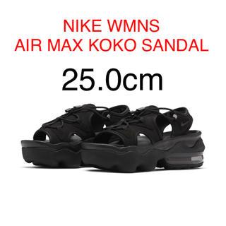 NIKE - ナイキ ウィメンズ エアマックス ココ サンダル ブラック 25.0cm