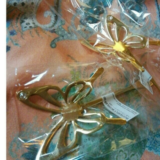 Francfranc - 新品 未開封 フランフラン 蝶々型マドラー 二本