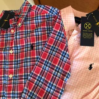 ラルフローレン(Ralph Lauren)のラルフローレン シャツ 2枚セット 新品(ブラウス)