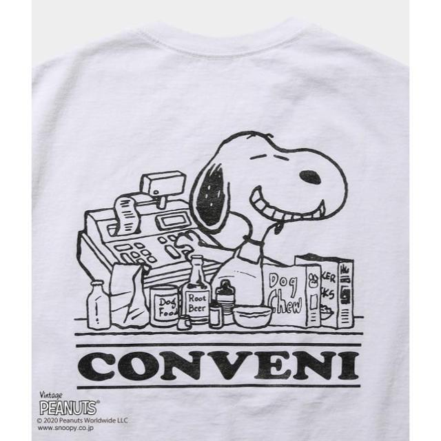 FRAGMENT(フラグメント)の THE CONVENI FRAGMENT PEANUTS L/S TEE メンズのトップス(Tシャツ/カットソー(七分/長袖))の商品写真