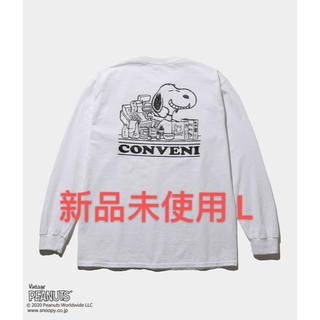 フラグメント(FRAGMENT)の THE CONVENI FRAGMENT PEANUTS L/S TEE(Tシャツ/カットソー(七分/長袖))