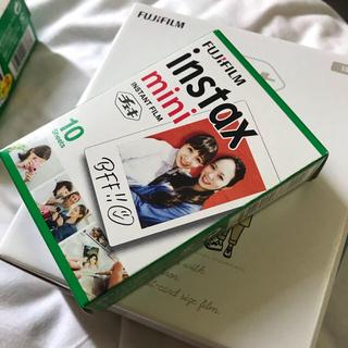 富士フイルム - 販売証明書あり 新品未開封 富士フィルム カメラ ホワイト インタックスミニ8