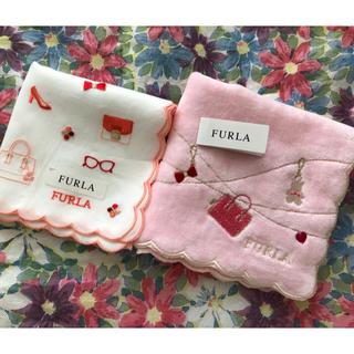 Furla - FURLA ハンカチ2枚