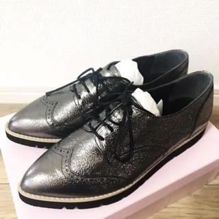 ダイアナ(DIANA)の新品☆DIANA オックスフォード シューズ パンプス 24☆モードエジャコモ(ローファー/革靴)