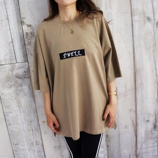 ステューシー(STUSSY)の西海岸スタイル☆LUSSO SURF LAオーバーサイズTシャツ Sサイズ☆(Tシャツ(半袖/袖なし))
