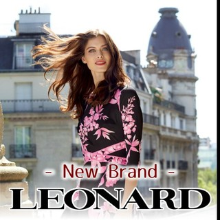 LEONARD - 綿100% サイズ38 レオナール LEONARD 人気柄 美人長袖トップス❤️