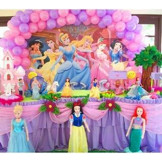 ディズニー(Disney)の【1点限定!】 6月12日前後入荷 プリンセス 背景布(ポスター)