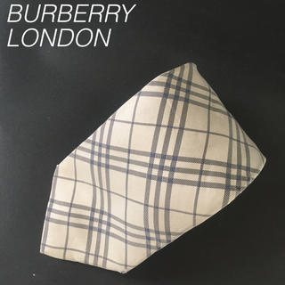 BURBERRY - バーバリー BURBERRY ロンドン チェック シルク 0525BL