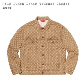 シュプリーム(Supreme)のSupreme Hole Punch Denim Trucker Jacket(Gジャン/デニムジャケット)