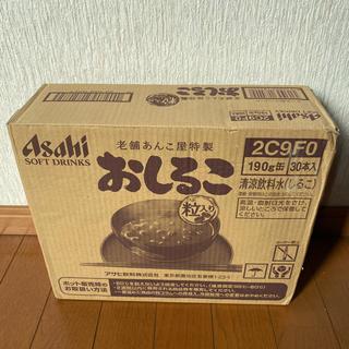 アサヒ - おしるこ缶 25本