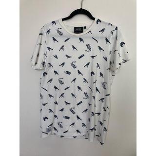 ウィーエスシー(WeSC)のwesc小鳥の総柄Tシャツ(Tシャツ/カットソー(半袖/袖なし))