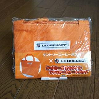ルクルーゼ(LE CREUSET)の【新品】ル・クルーゼ ファスナー付 トートバッグ(トートバッグ)